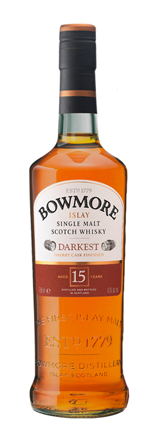 Bowmore, Aged 15 Years Darkest