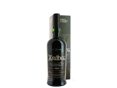 Ardbeg, Non Chill-filtered 10 Years Old