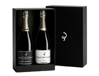 Billecart-Salmon, Coffret Duo d'Exception : Blanc de Blancs + Réserve