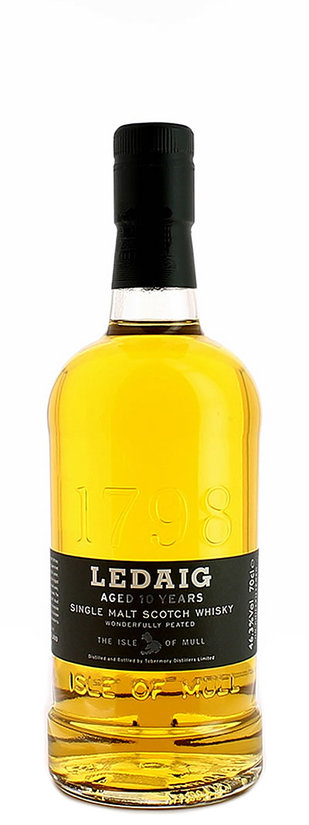 Ledaig, Wonderfully Peated Aged 10 Years