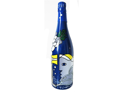 Taittinger, Collection Lichtenstein, avec étui, 1985