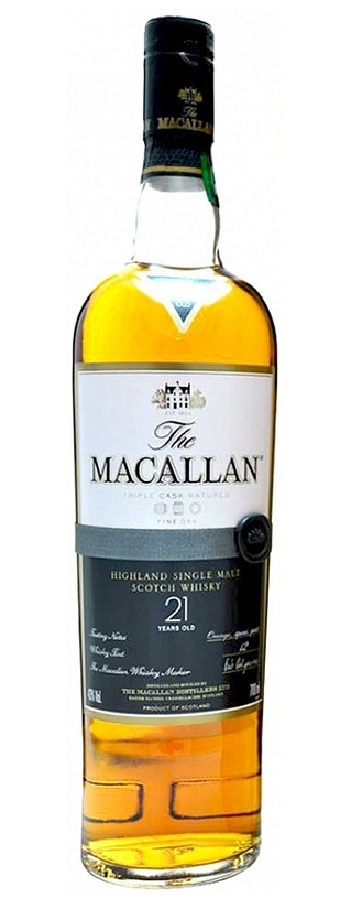 The Macallan, Fine Oak, 21 Ans