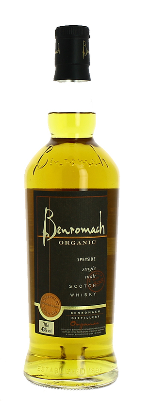 Benromach, Organic Of