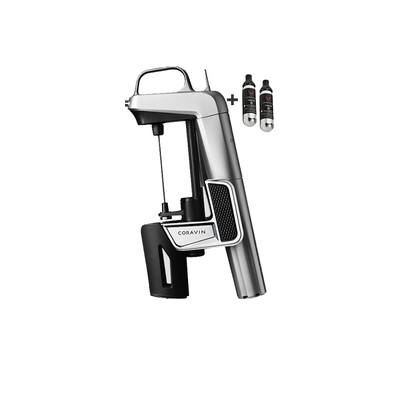 Coravin, Coravin Model Two Elite Argent + 2 cartouches