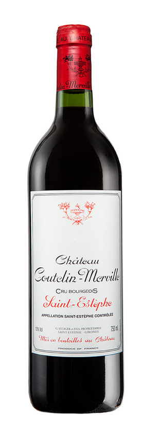 Château Coutelin-Merville, Cru Bourgeois, 2013