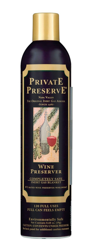 Private Preserve, Wine Preserver