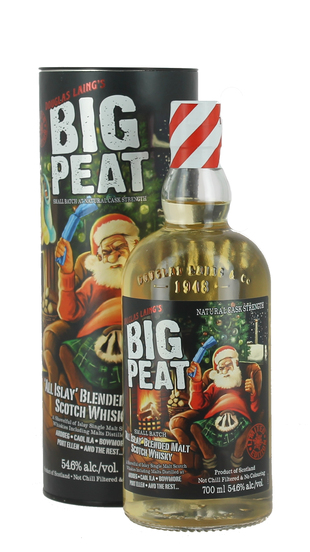 Big Peat, Christmas Edition 2016 Remarkable Regional Malts 0,70 ALC 55