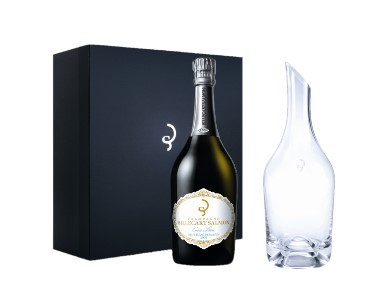 Billecart-Salmon, Coffret Carafe & Cuvée Louis Blanc de Blancs, 2006
