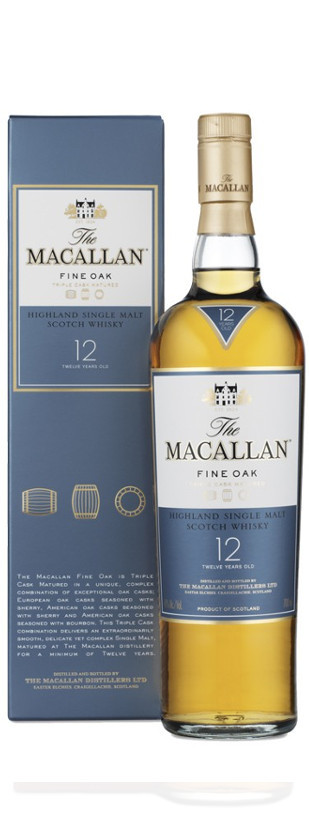 The Macallan, Fine Oak 12 Ans