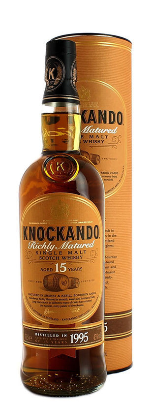 Knockando, Richly Matured Aged 15 Years