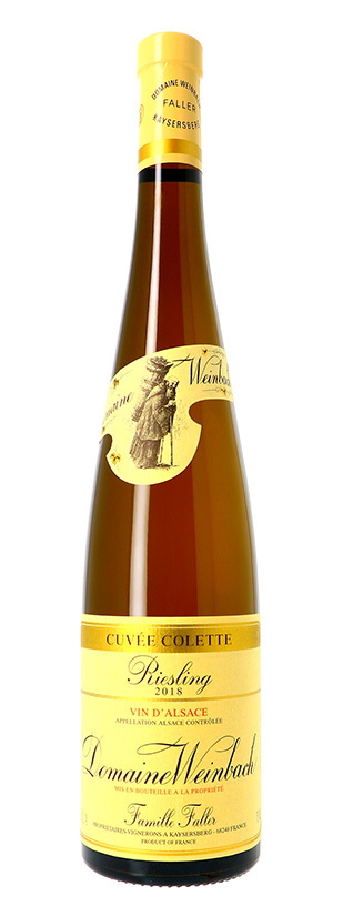 Domaine Weinbach, Riesling Cuvée Colette, 2018