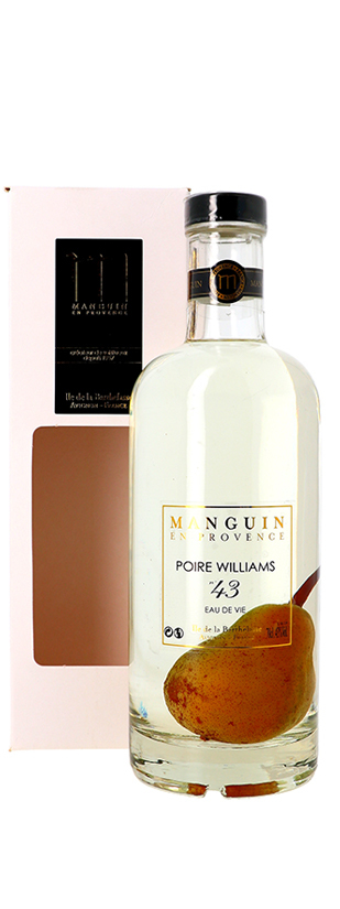 Distillerie Manguin, Poire Williams Prisonnière n°45 La Barthelasse