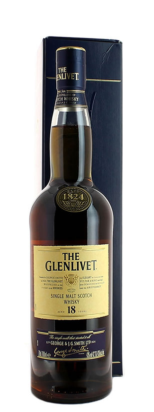 Glenlivet, 18 Years of Age