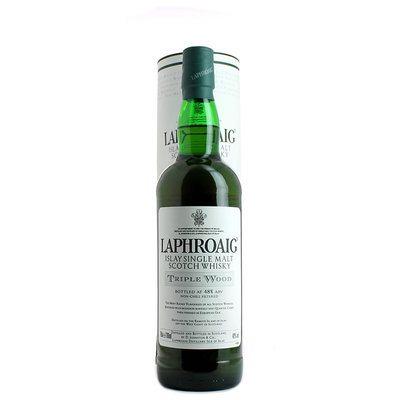 Laphroaig, Triple Wood Non-Chill Filtered
