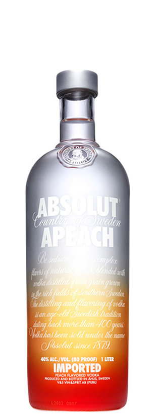 "Absolut, Pêche ""Apeach"""