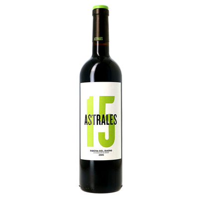 DO Ribera del Duero Astrales  2015 Rouge 0,75