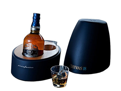 Chivas Regal, Aged 18 Years Pininfarina + 2 verres
