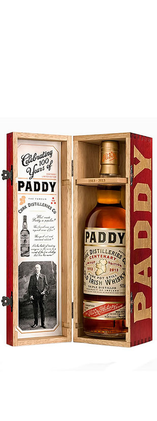 Cork Distilleries And Co, Paddy Centenary Limited Edition