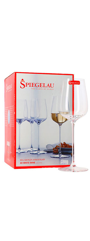 Spiegelau Lot de 4 verres, Willsberger, Vin blanc