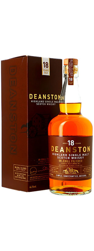 Distillerie Deanston, 18 years